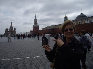 Geri Krotow in Red Square